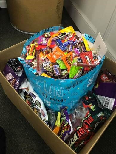 Halloween Candy Donations